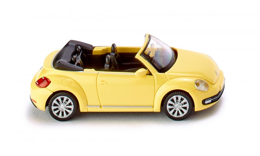 VW The Beetle Cabriolet - saturn-yellow