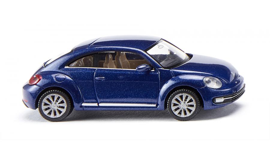 VW The Beetle - reef blue met.