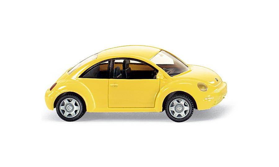 VW New Beetle - gelb