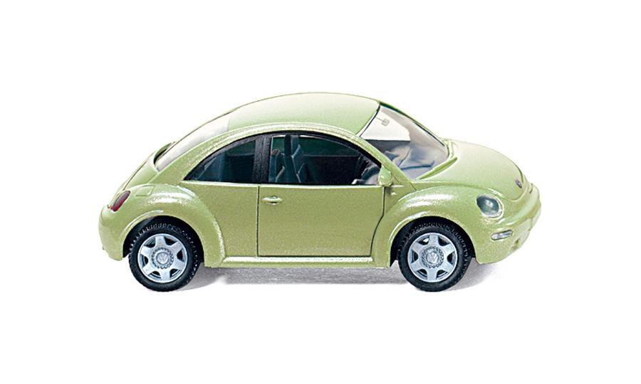 VW New Beetle - cybergreen met.
