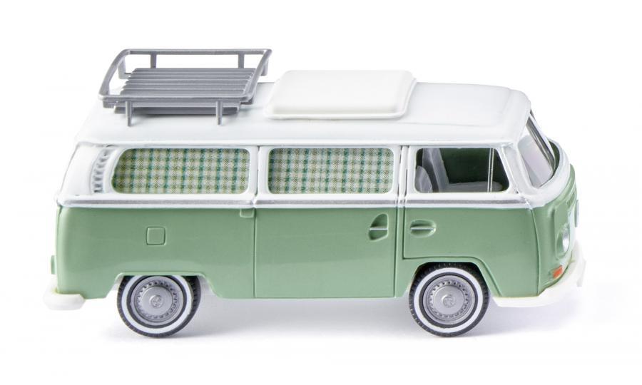VW T2 Campingbus - mintgrün/weiß