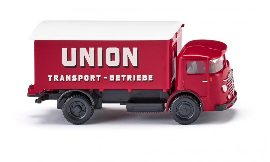 "Koffer-Lkw (Büssing 4500) ""Union Transport"""